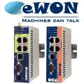Industrial Routers eWON – Remote VPN Access for PLC Troubleshooting and Maintenance.