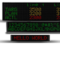 AutomationDirect introduces the ViewMarq line of industrial-grade LED message displays; in stock for same day shipping. Prices start at $499.